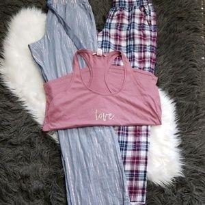 Victoria's Secret Pajama Pants Bundle